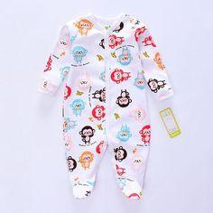 d1b58e79e06b Autumn Baby Bodysuit Boy s Jumpsuits newborn Animal style infant clothes  long sleeve bodysuits baby 100%cotton Jumpsuit