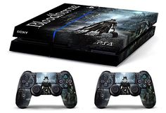 Skin PS4 WhiteP HD BLOODBORNE limited edition Playstation 4 COVER DECAL