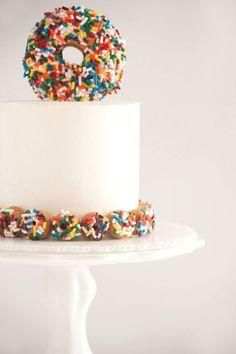 Sprinkles for Breakfast   Doughnut Cake