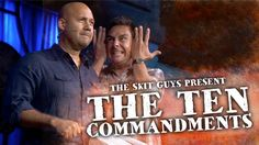 Watch The Ten Commandments. The Skit Guys take an in-depth look at each of the 10 Commandments and how they apply to our lives today…and to the lives of velociraptors.