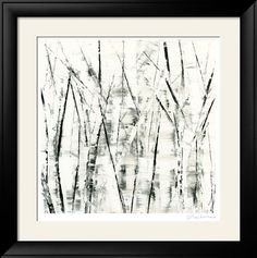Black and White Branches Framed Art Print Black Framed Wall Art, Black And White Wall Art, Metal Wall Art, Framed Art Prints, White Wood, Black White, White Branches, Contemporary Wall Art, Photo Tree