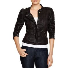 Vero Moda Faux Leather Moto Jacket ($75) ❤ liked on Polyvore featuring outerwear, jackets, black, vegan biker jacket, rider jacket, faux leather jacket, fake leather jacket and motorcycle jackets