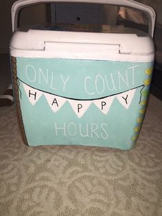 only count happy hours cooler