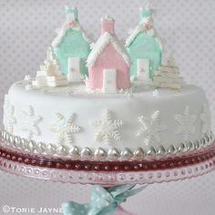 Christmas Village cake recipe by Torie Jayne