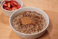 Chia Seeds are supposed to be the IT foodstuff...Creamy Chia Oatmeal