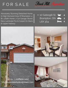 28 best homes for sale in brampton images on pinterest in 2018 freshly painted lots of windows for natural light pot lights elegant kit with solutioingenieria Gallery