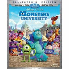Monsters University (Blu-ray + DVD + Digital Copy)  This is a movie that the whole family will enjoy.  My 8 year old daughter loved it.
