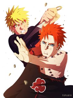 Naruto and Pain