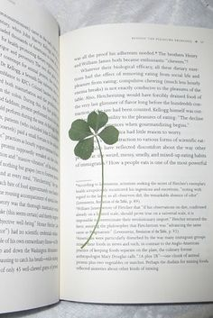 15 Curious Things Found In Library Books   My husband always find four leaf clovers, and presses them in his dictionary!