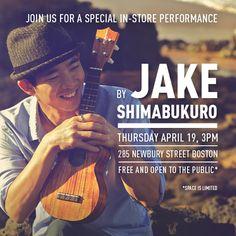 Looking back on in-store concert with ukulele virtuoso Jake Shimbukuro.