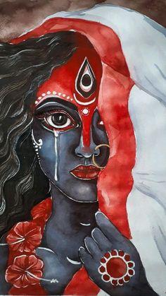 Mandala Drawing, Mandala Art, Indian Folk Art, Modern Indian Art, Durga Painting, Rajasthani Art, Whatsapp Wallpaper, Art Painting Gallery, Illustration Art Drawing