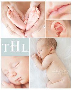 Sweet newborn baby portrait session. #newborn #babyphotography