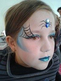 maquillage célia … | Atelier maquillage, Maquillage halloween sorcière, Maquillage enfant