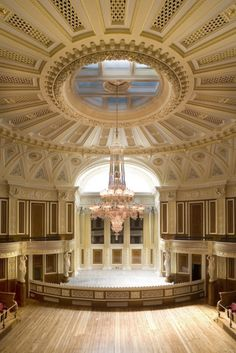 Concert Room, St Georges Hall, Liverpool, England ~Grand Mansions, Castles, Dream Homes & Luxury Homes ~Wealth and Luxury