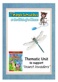 TeacherLingo.com - Insect Invaders: So you're about to read 'Insect Invaders' chapter book by The Magic School Bus to your class.    Why stop at the story. With this resource, each chapter can have a follow-up activity that brings the 'reading' into 'reality'.