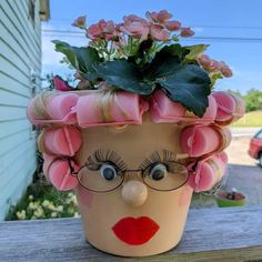 Cute Crafts, Crafts To Make, Crafts For Kids, Diy Crafts, Summer Crafts, Fall Crafts, Christmas Crafts, Clay Pot Projects, Clay Pot Crafts