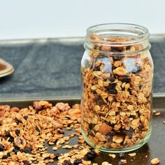 A simple homemade granola adapted from The Blue Zones Solution