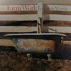 1942cdcb5a0 Catalogue from the exhibition Farm Work by Jamie Wyeth. On exhibit at the  Brandywine River Museum June 11 - September Soft cover