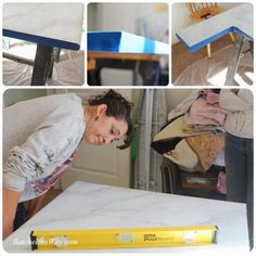 Batchelors Way: Laundry Room - DIY Countertops Part 2 - Faux Painting Faux Marble Countertop, Quartzite Countertops, Marble Countertops, Kitchen Countertops, Granite, I Feel Stupid, Feeling Stupid, Bra Fat Workout