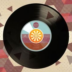 Viva Vinyl - Darts. Canvas Record Wall Artwork by WP House 24x24 $139
