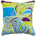 Product Details - Catalina Cove Butterfly Stripe Pillow