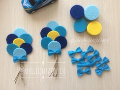 Francesca Messere's media content and analytics Crafts To Sell, Diy And Crafts, Crafts For Kids, Arts And Crafts, Felt Diy, Felt Crafts, Paper Crafts, Baby Shower Return Gifts, Baby Boy Shower