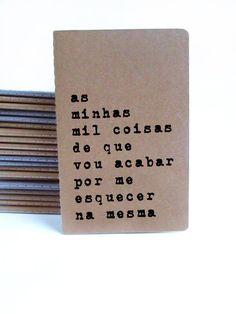 Caderno MOLESKINE® em Português journal with by Alfamarama on Etsy