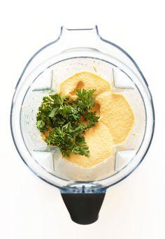 Butternut Squash Hummus | Minimalist Baker Recipes