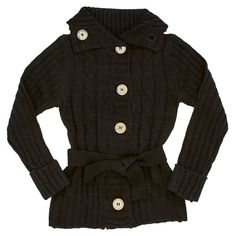 Solid Cable Sweater (4-6x)