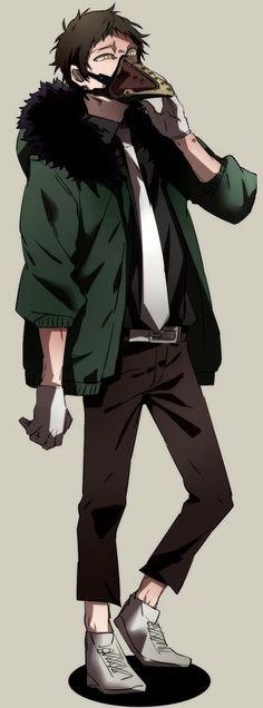 Boku no Hero Academia    Overhaul/Chisaki