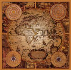 Dutch 17th century map Cartographica 1.