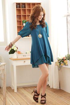 Love this blue dress