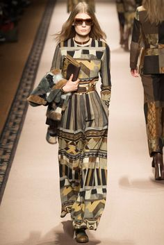 Etro Fall 2015 RTW | Another striking collection of prints and patchwork and iconic boho-luxe aesthetic