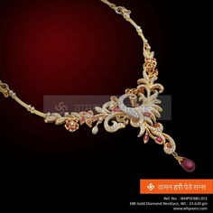 This one of a kind necklace is an personification of tradition and modern style at the same time