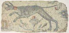 A LATE ROMAN MARBLE MOSAIC PANEL CIRCA 4TH-5TH CENTURY A.D.
