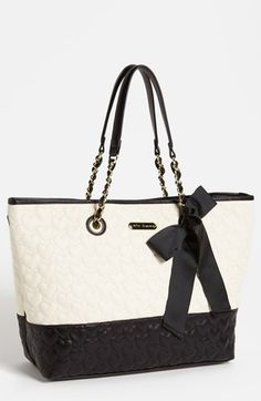 Betsey Johnson 'One & Only' Tote available at #Nordstrom love love love!!!!