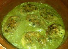 Tortas de cilantro