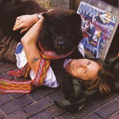 Viggo Mortensen & friend