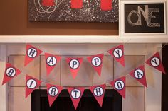 birthday banner using silhouette - Google Search