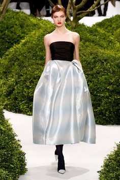 Dior - Couture - Spring-summer 2013. Wish it had a sleeve!