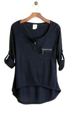 Perfect Shirt Black // Conversation Pieces by Rocio Bacino