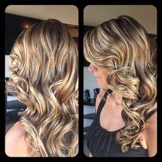 Amber Heater, Gorgeous Hair Salon, Salisbury MD Highlights and lowlights, sandy blonde, natural look, multitonal blonde