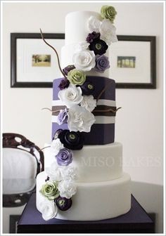 Purple Box Cake