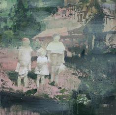 Tor-Arne Moen's beautiful paintings via Kickcan & Conkers