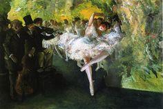 Rehearsal of the Ballet by Everett Shinn, c. 1905-06