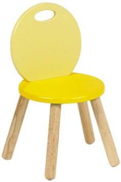 Pintoy Two Tone Chair (Yellow): Amazon.co.uk: Kitchen & Home