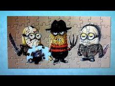Friday the 13th Halloween Minions | Despicable Me Puzzle | Rompecabezas De Minions | quebra cabeça