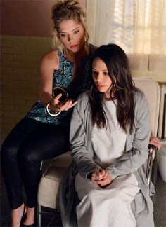 Pretty Little Liars - I love that Hanna still treats her like a best friend even though Mona . . . .
