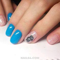 Simple Nail Art Designs / Elegant And Super Manicure Idea Simple Nail Art Designs, Best Nail Art Designs, Toe Nail Designs, Beautiful Nail Designs, Easy Nail Art, Cool Nail Art, Love Nails, How To Do Nails, Nail Art At Home