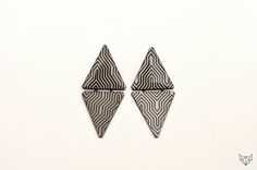 paper jewelry earrings